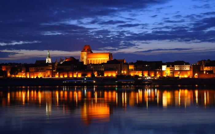 Городок Торунь, Польша