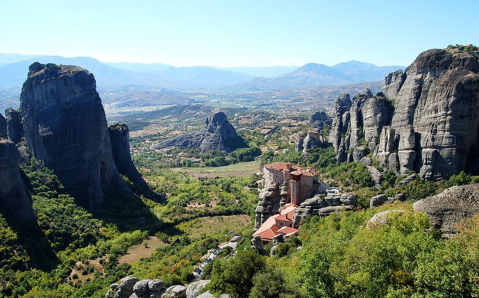 Монастырский комплекс Метеора, Греция