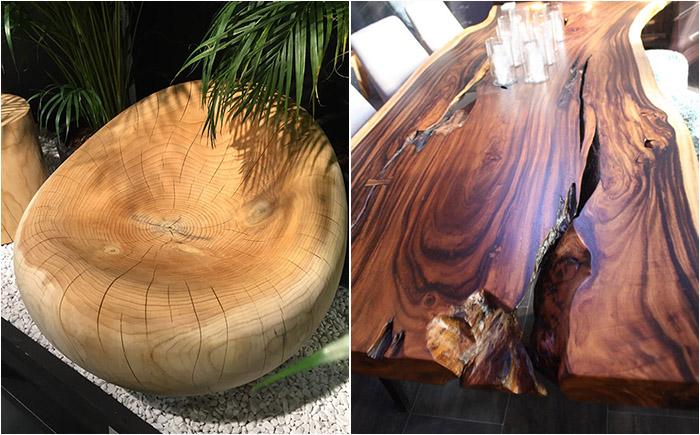 Современный дизайн для экоматериалов: самая необычная мебель из дерева