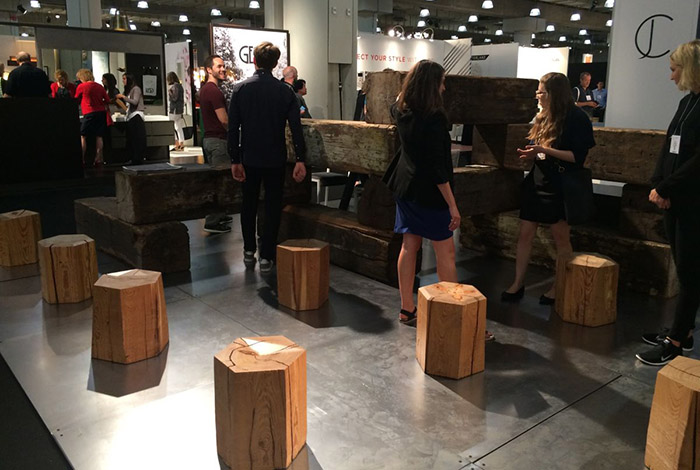 ������ ��  Domino Sugar Stools