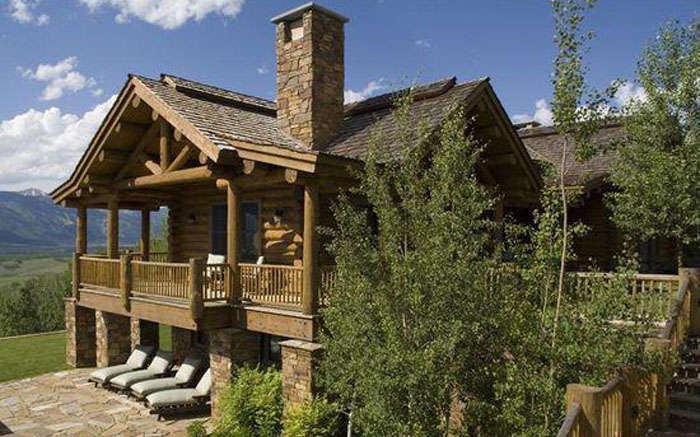 Деревянный дом для полноценного отдыха