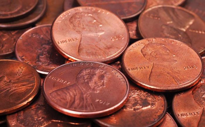 В США отменять пенсы