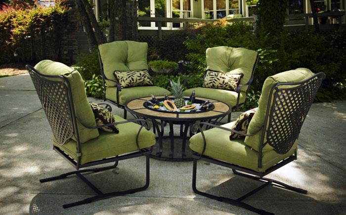 Кованая садовая мебель – новый взгляд на привычные вещи