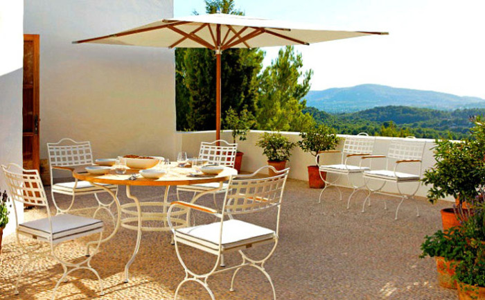 Кованая мебель в итальянском стиле