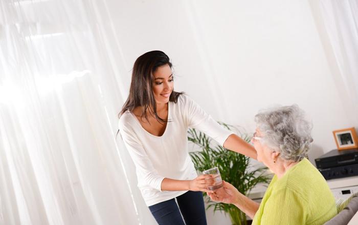 Посещение бабушек и дедушек