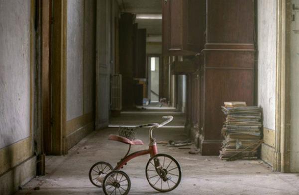 Заброшенный дом в Бельгии