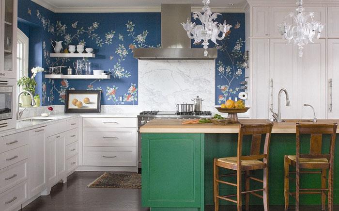 Кухня в эклектичном стиле от Andrea Schumacher Interiors