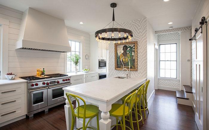 Интерьер кухни от New England Design Works
