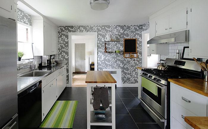 Нейтральная цветовая гамма для современной кухни