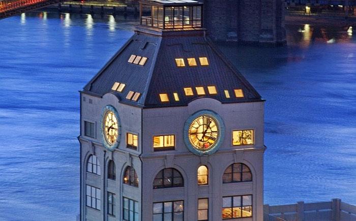 Роскошный пентхаус в часовой башне