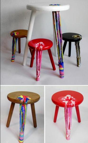 Тающие стулья от Anna Ter Har