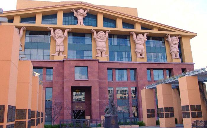 Офис Диснея, Калифорния