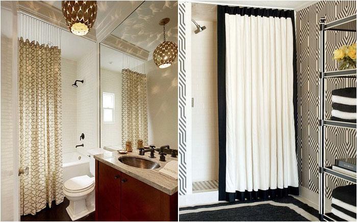 Новый текстиль в ванной комнате