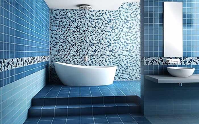 Белый голубой ванная комната Смеситель Caprigo Monarch 41-020-oro для раковины, с донным клапаном