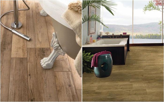 Бамбуковая плитка для пола