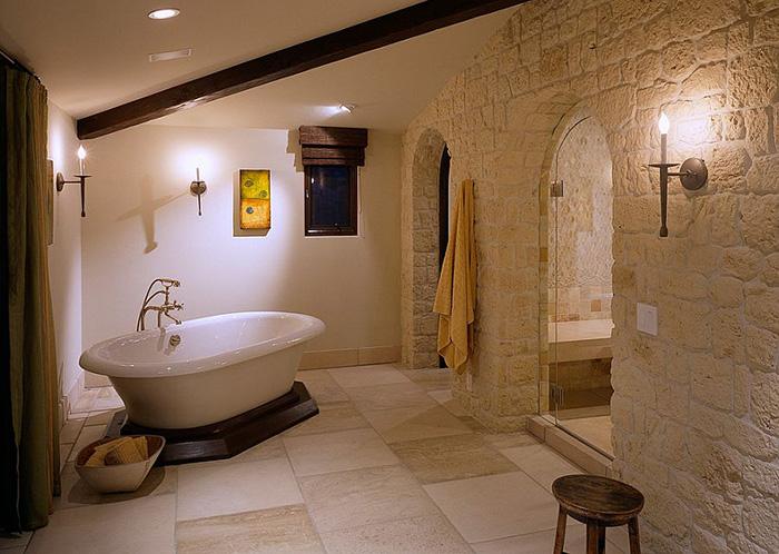 Интерьер ванной от Gordon Gibson Construction