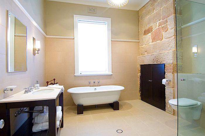 Интерьер ванной от POC+P architects