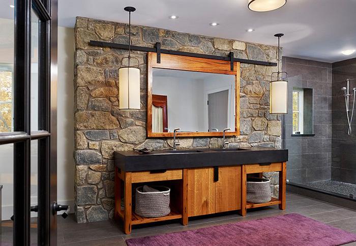 Интерьер ванной от Moger Mehrhof Architects