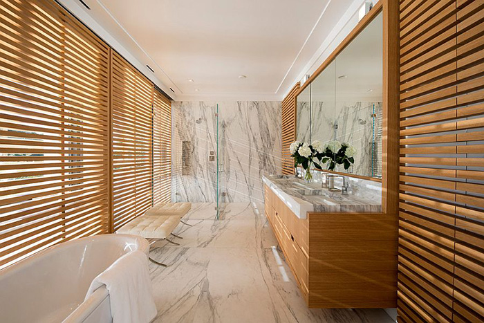 Интерьер ванной от  Blaze Makoid Architecture