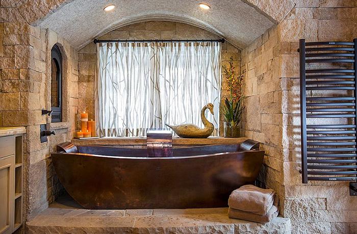 Интерьер ванной от Diamond Spas