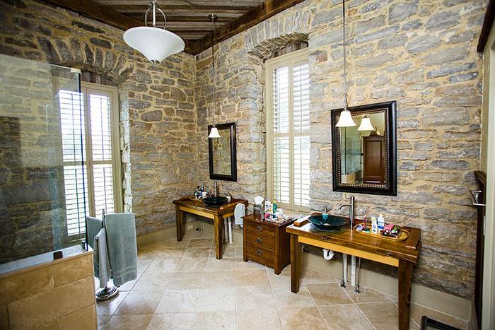 Интерьер ванной от Wilmes & Associates Architects