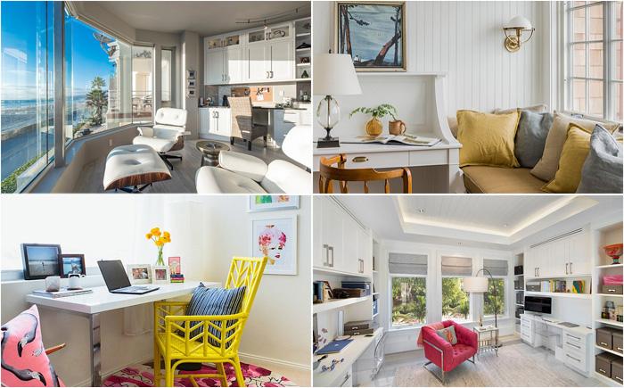 10 удивительных домашних офисов в пляжном стиле