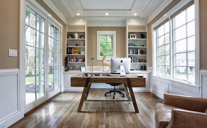 Элегантный домашний офис от Vita Design Group