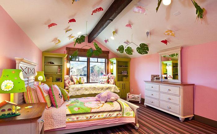 Потолок в детской от  Jaffa Group Design Build