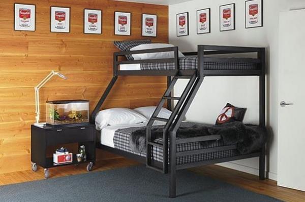 Двухъярусные кровати для взрослых и детей своими руками