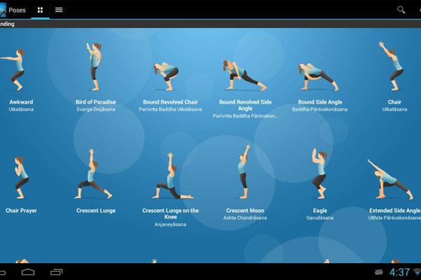 Йога-приложение Pocket Yoga