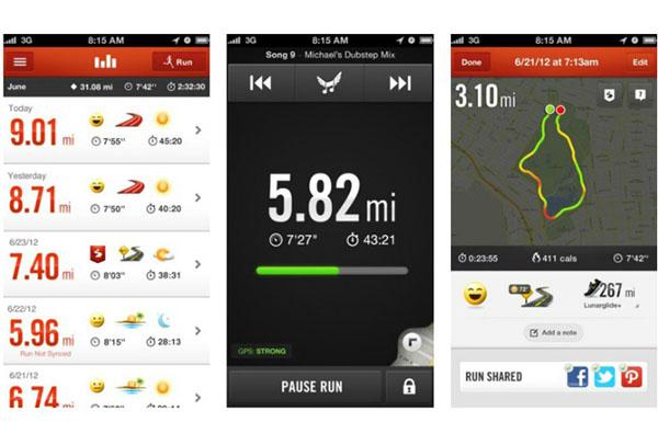 Беговое приложение Nike+Running