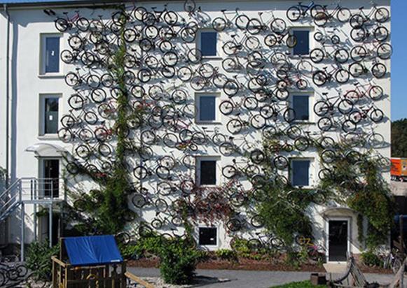 Велосипеды могут превратиться в действенную рекламу