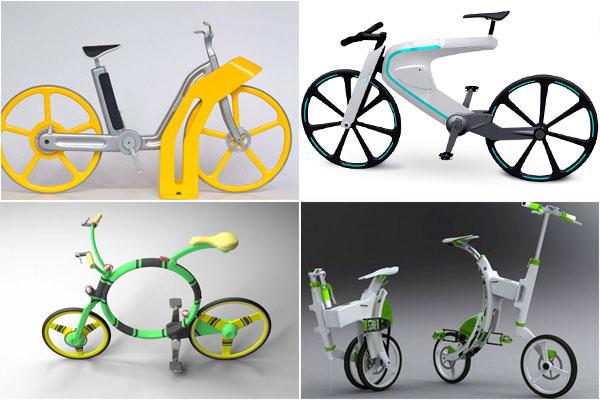 10 самых необычных велосипедов будущего