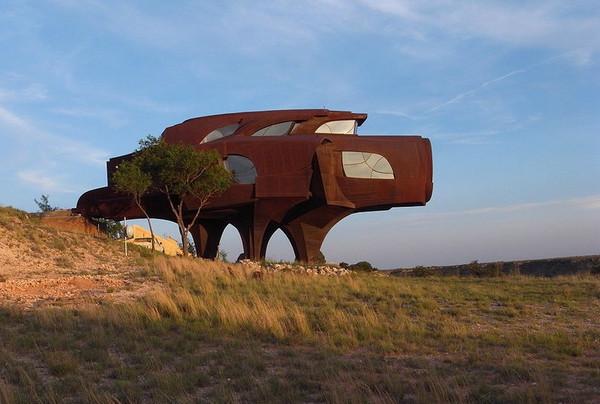 Стальной дом, каньон Ренсом, Техас