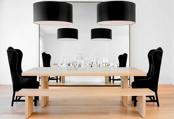 Интерьер столовой от  Vanessa Brunner