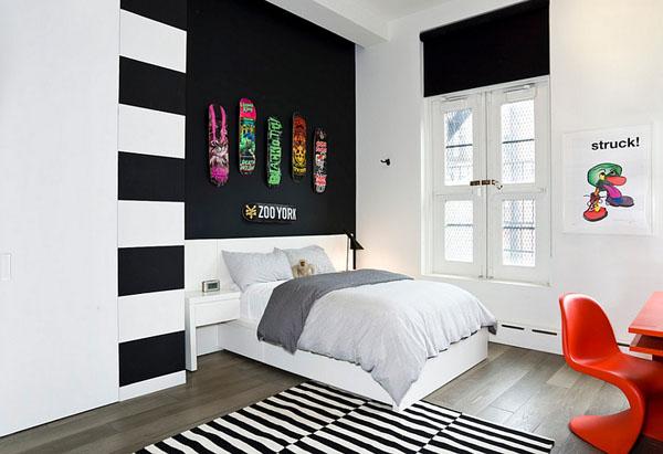 Интерьер спальни от Grade Designs