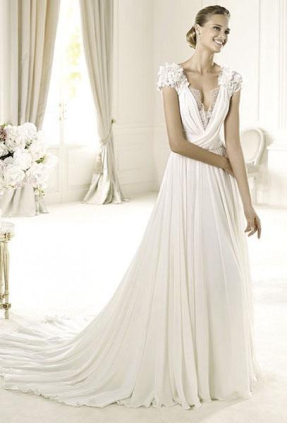 платье из мешковины для фотосессии