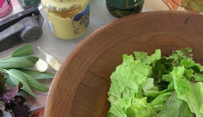 Как приготовить заправку к салату