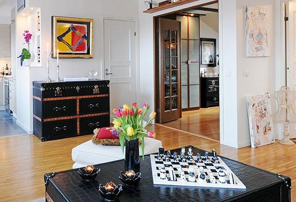 Сундуки  в современном интерьере - идеи для каждого дома