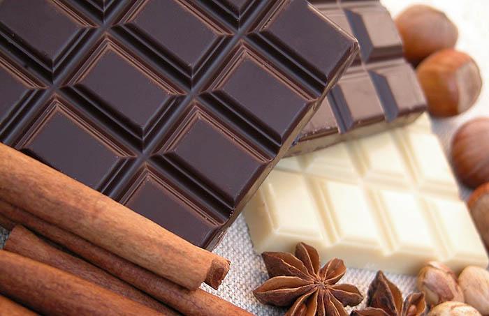 Правильный выбор - чёрный шоколад