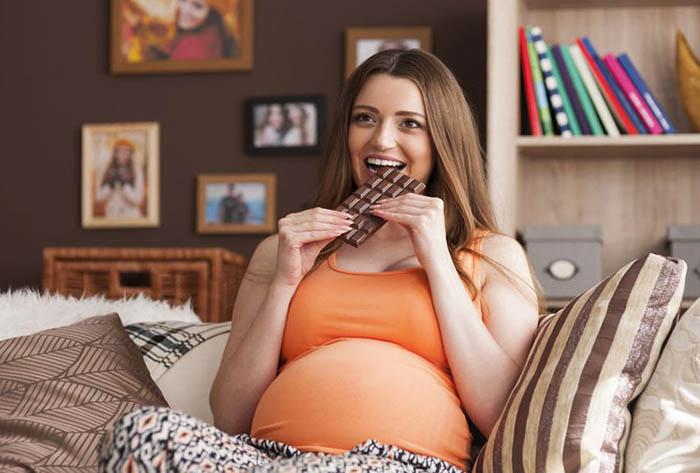 Шоколад и беременность
