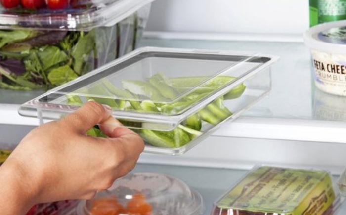 Каждую ёмкость можно поставить в холодильник