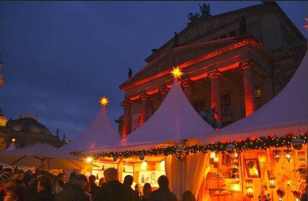 Рождественские огни в Берлине