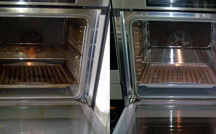 Самый лёгкий и эффективный способ чистки духовки от жира и нагара