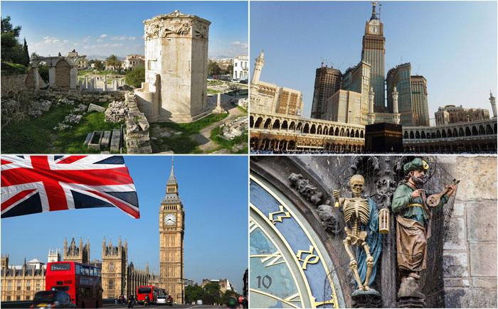 10 самых изумительных башен с часами, главных визиток городов мира