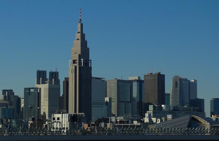 Небоскреб NTT Docomo Yoyogi Building