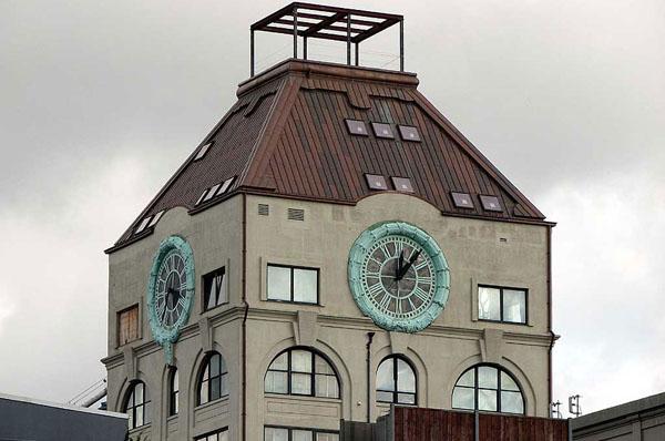 Современный пентхаус в Бруклинской часовой башне