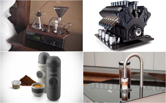 Завариваем эспрессо: самые необычные кофеварки в мире