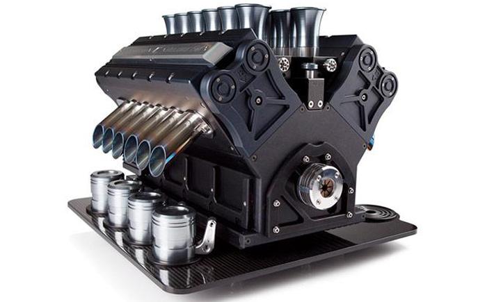 Кофеварка- двигатель: Espresso Veloce V12