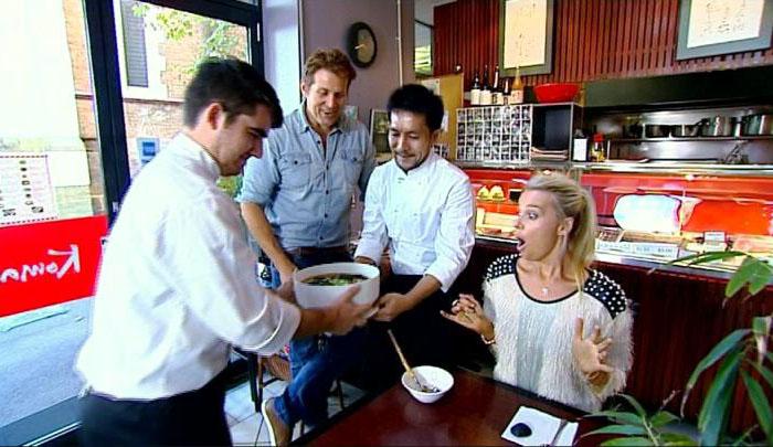 Японский ресторан Komachi: блюдо рамен